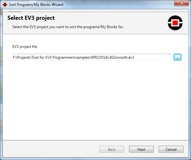 Tool for EV3 Programmers Help file