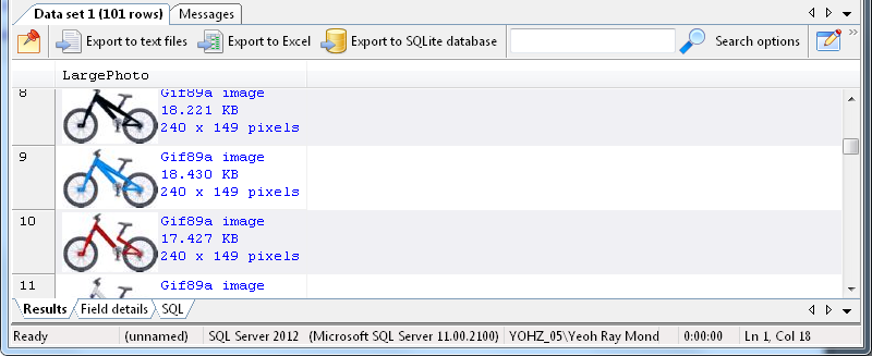 SQL Blob Viewer - How to view images stored in your database